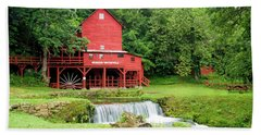 Hand Towel featuring the photograph Hodgson Water Mill by Cricket Hackmann