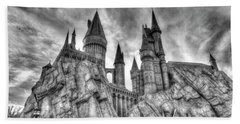 Hogwarts Castle 1 Hand Towel by Jim Thompson