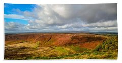 Hole Of Horcum, North York Mores, Yorkshire, United Kingdom Bath Towel
