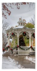 Holiday Gazebo Hand Towel