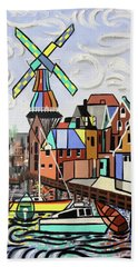 Holland Not Just Tulips And Windmills  Hand Towel
