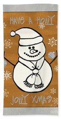 Holly Holly Xmas Hand Towel