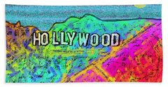 Hollycolorwood Hand Towel
