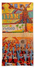 Hollywood Parade Bath Towel