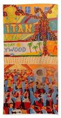 Hollywood Parade Bath Towel