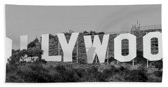 Hollywood Sign Hand Towel