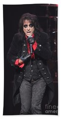 Hollywood Vampires Alice Cooper Bath Towel