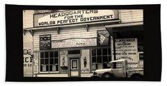 Holy City World Government Santa Clara County California 1938 Bath Towel