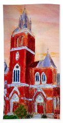 Holy Family Church Bath Towel