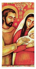 Holy Family Bath Towel