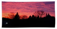 Bath Towel featuring the photograph Holy Hill - Gloom To Color by Janice Adomeit
