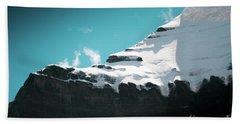 Holy Kailas Fragment Himalayas Tibet Yantra.lv Hand Towel