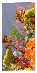 Hand Towel featuring the photograph Holy Week Flowers 2017 3 by Sarah Loft