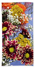 Hand Towel featuring the photograph Holy Week Flowers 2017 4 by Sarah Loft