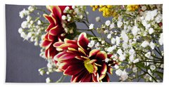 Hand Towel featuring the photograph Holy Week Flowers 2017 5 by Sarah Loft