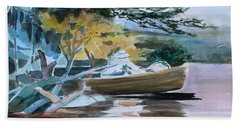Homage To Winslow Homer Bath Towel by Mindy Newman