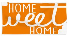 Hand Towel featuring the digital art Home Sweet Home Tennessee by Heather Applegate