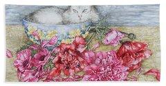 Homely Bath Towel by Kim Tran