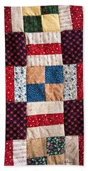 Homemade Quilt Hand Towel