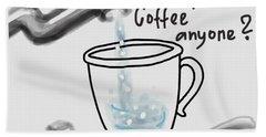 Homeopathic Coffee Bath Sheet by Ivana Westin
