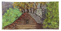 Homestead Hand Towel by Laurie Morgan