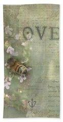 Honey Love Hand Towel