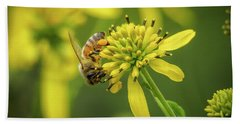 Honeybee 21 Bath Towel