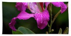 Hong Kong Orchid Hand Towel