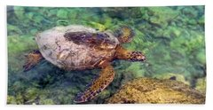 Honu Bath Towel by Pamela Walton