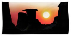 Hoodoo Sunrise Hand Towel