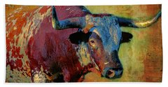 Hook 'em 2 Hand Towel by Colleen Taylor