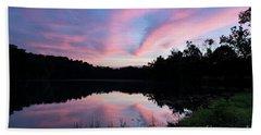 Hoosier Sunset - D010405 Bath Towel