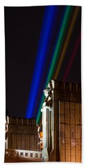 Hope Memorial Bridge, Aha Lights Bath Towel