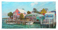 Hope Town By The Sea Hand Towel