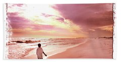 Hope's Horizon Bath Towel by Marie Hicks