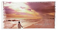 Horizon Of Hope Bath Towel by Marie Hicks