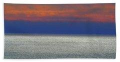 Horizontal Sunset Hand Towel