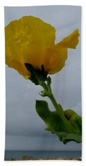 Horned Poppy Bath Towel