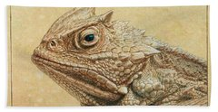 Horned Toad Hand Towel