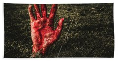 Horror Resurrection Hand Towel