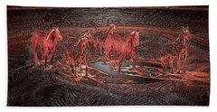 Horse Chestnut Pass Bath Towel