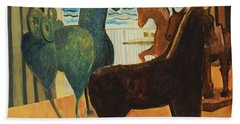 Horse Collection Bath Towel
