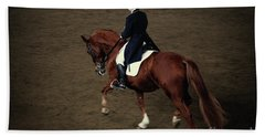Horse Dressage Hand Towel