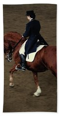 Horse Dressage Bath Towel