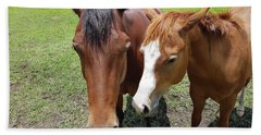 Horse Love Bath Towel