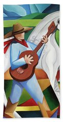 Horse Song Hand Towel