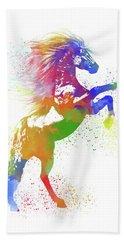Horse Watercolor 1 Hand Towel