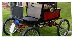 Horseless Carriage-c Hand Towel