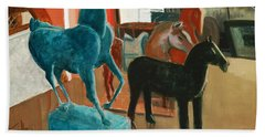 Horses Four Bath Towel