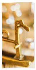 Horses From The Shimmer Hand Towel